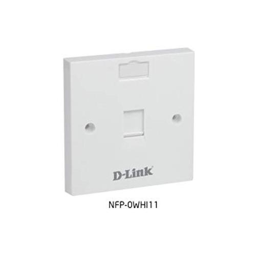 D Link NFP 0WHI21 Single Faceplate chennai, hyderabad, telangana, tamilnadu, india
