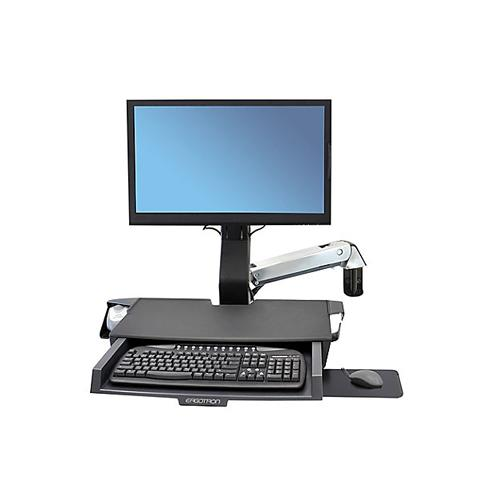 Ergotron StyleView Sit Stand Combo Arm with Worksurface chennai, hyderabad, telangana, tamilnadu, india