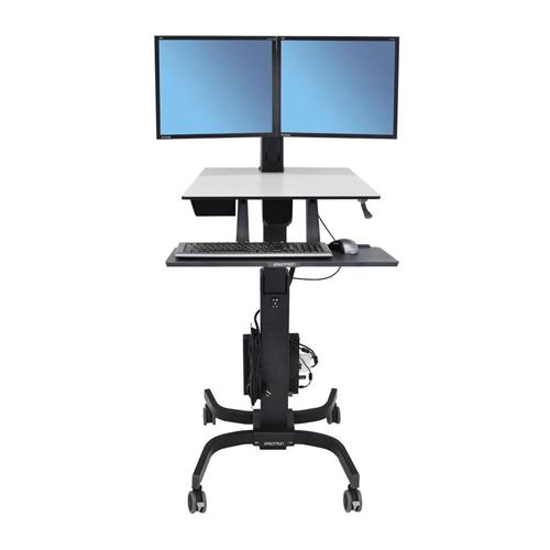 Ergotron WorkFit C Dual Sit Stand Workstation chennai, hyderabad, telangana, tamilnadu, india