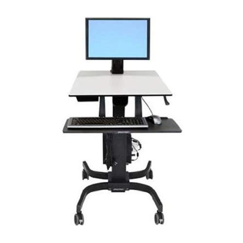 Ergotron WorkFit C Single HD Sit Stand Workstation chennai, hyderabad, telangana, tamilnadu, india