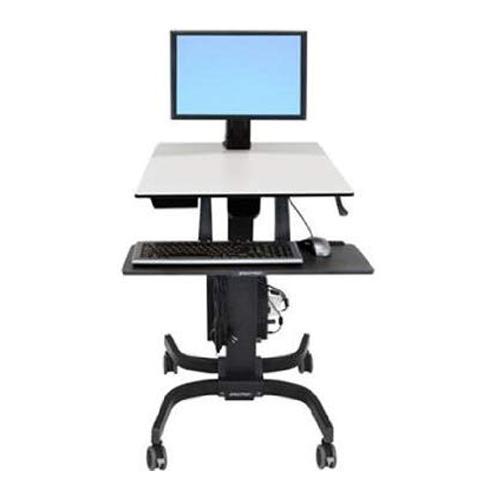 Ergotron WorkFit C Single LD Sit Stand Workstation dealers price chennai, hyderabad, telangana, tamilnadu, india
