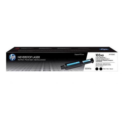 HP 103AD W1103AD Black Neverstop Dual Pack Toner Cartridge chennai, hyderabad, telangana, tamilnadu, india
