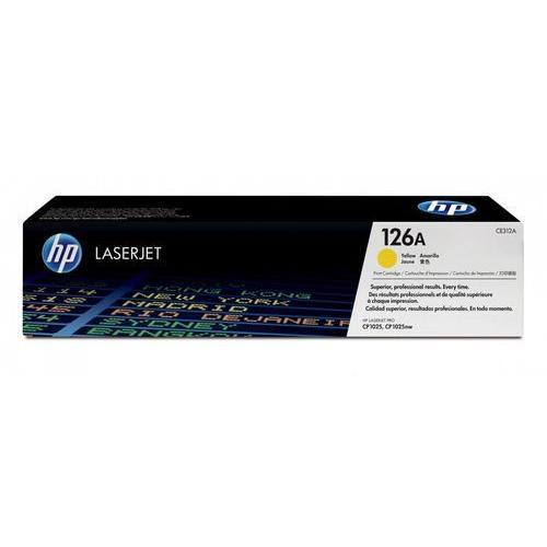 HP 126A CE312A Yellow LaserJet Toner Cartridge dealers price chennai, hyderabad, telangana, tamilnadu, india