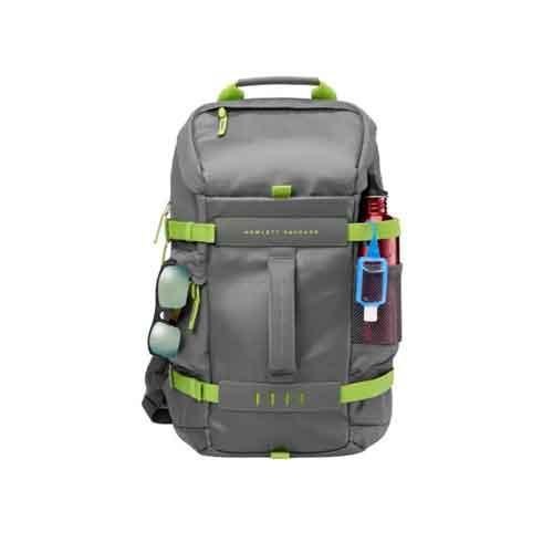 HP 15.6 Green/Gray Odyssey Backpack dealers price chennai, hyderabad, telangana, tamilnadu, india