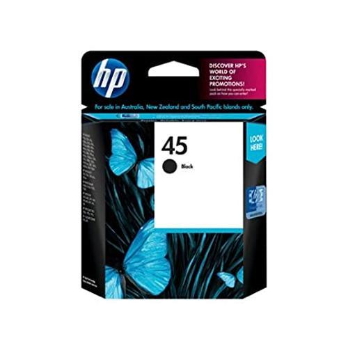 HP 45 51645AA Black Original Ink Cartridge dealers price chennai, hyderabad, telangana, tamilnadu, india