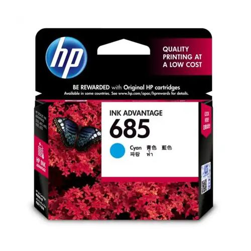 HP 685 CZ122AA Cyan Original Ink Cartridge dealers price chennai, hyderabad, telangana, tamilnadu, india