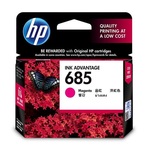 HP 685 CZ123AA Magenta Original Ink Cartridge dealers price chennai, hyderabad, telangana, tamilnadu, india