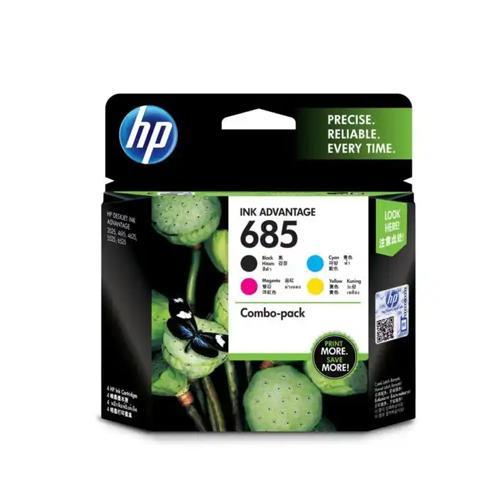 HP 685 F6V35AA CMYK Ink Cartridges Combo 4 Pack dealers price chennai, hyderabad, telangana, tamilnadu, india