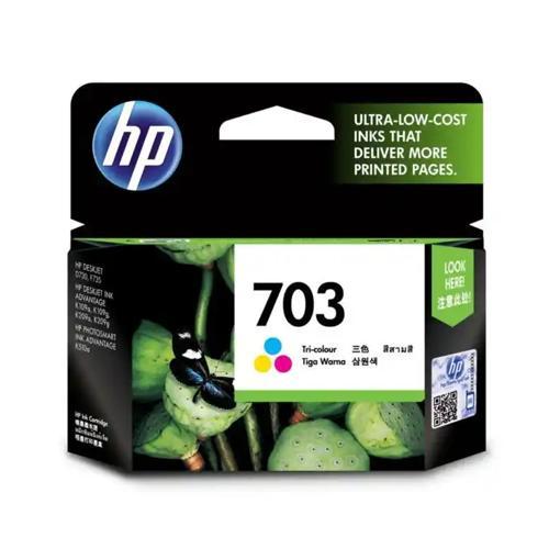HP 703 CD888AA Tri color Original Ink Cartridge dealers price chennai, hyderabad, telangana, tamilnadu, india