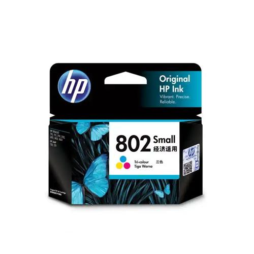 HP 802 CH562ZZ Small Tri color Ink Cartridge dealers price chennai, hyderabad, telangana, tamilnadu, india