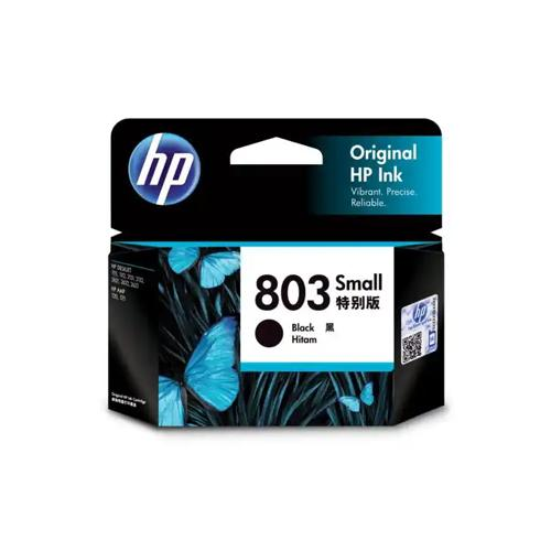 HP 803 F6V23AA Small Black Ink Cartridge dealers price chennai, hyderabad, telangana, tamilnadu, india