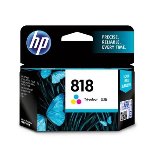HP 818 CC643ZZ Tri color Original Ink Cartridge dealers price chennai, hyderabad, telangana, tamilnadu, india