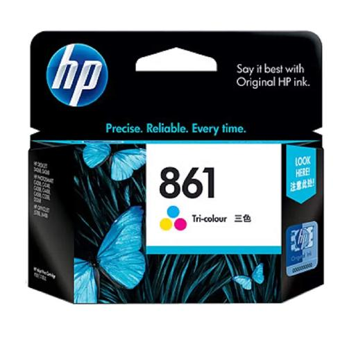 HP 861 CB337ZZ Tri color Original Ink Cartridge dealers price chennai, hyderabad, telangana, tamilnadu, india