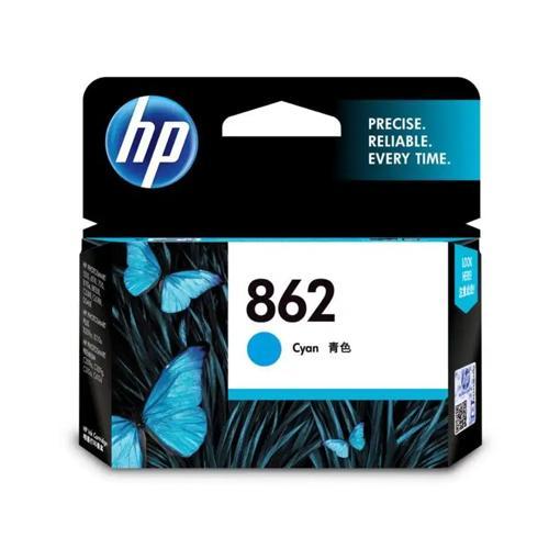HP 862 CB318ZZ Cyan Ink Cartridge dealers price chennai, hyderabad, telangana, tamilnadu, india