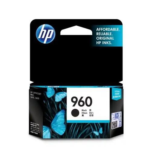 HP 960 CZ665AA Black Original Ink Cartridge dealers price chennai, hyderabad, telangana, tamilnadu, india