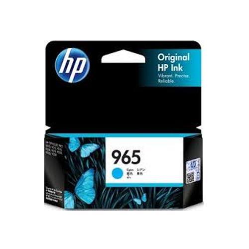 HP 965 3JA77AA Cyan Original Ink Cartridge dealers price chennai, hyderabad, telangana, tamilnadu, india