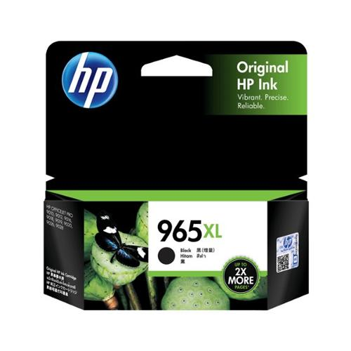 HP 965XL 3JA84AA High Yield Black Original Ink Cartridge dealers price chennai, hyderabad, telangana, tamilnadu, india
