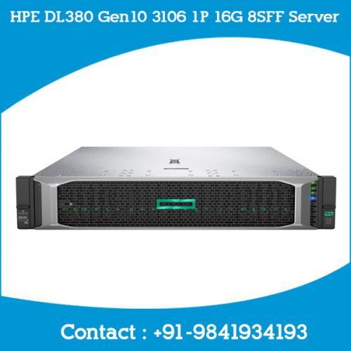 HPE DL380 Gen10 3106 1P 16G 8SFF Server price chennai, Hyderabad, Telangana, andhra, tamilnadu