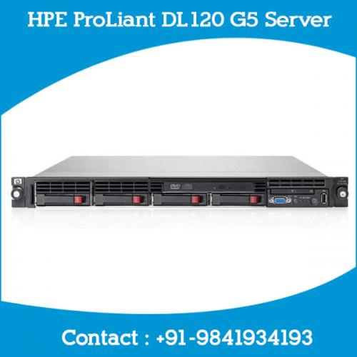 HPE ProLiant DL120 G5 Server dealers price chennai, hyderabad, telangana, tamilnadu, india