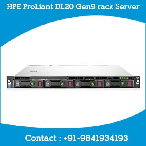 HPE ProLiant DL20 Gen9 rack Server dealers price chennai, hyderabad, telangana, tamilnadu, india