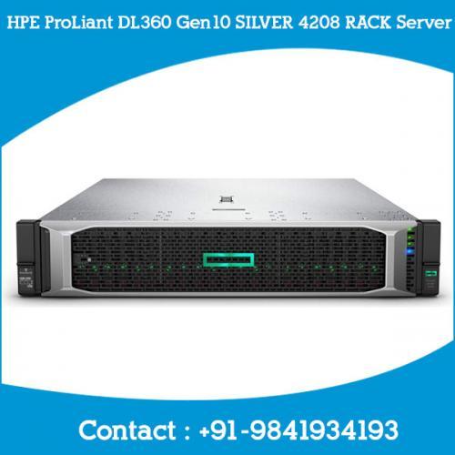 HPE ProLiant DL360 Gen10 SILVER 4208 RACK Server dealers price chennai, hyderabad, telangana, tamilnadu, india