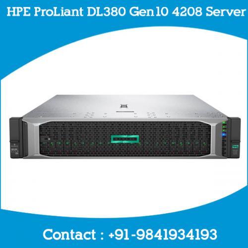 HPE ProLiant DL380 Gen10 4208 Server dealers price chennai, hyderabad, telangana, tamilnadu, india