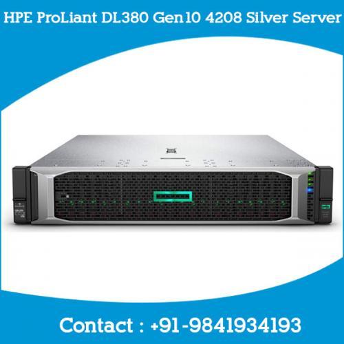 HPE ProLiant DL380 Gen10 4208 Silver Server dealers price chennai, hyderabad, telangana, tamilnadu, india
