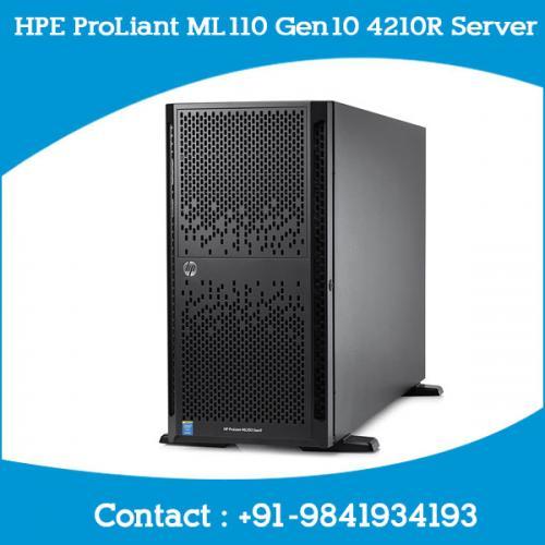 HPE ProLiant ML110 Gen10 4210R Server chennai, hyderabad, telangana, tamilnadu, india