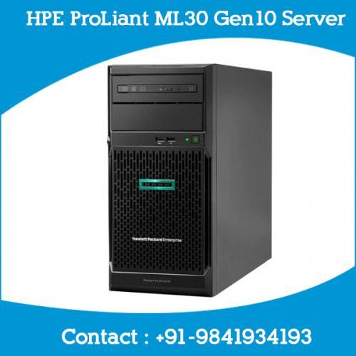 HPE ProLiant ML30 Gen10 Server dealers price chennai, hyderabad, telangana, tamilnadu, india