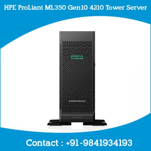 HPE ProLiant ML350 Gen10 4210 Tower Server chennai, hyderabad, telangana, tamilnadu, india