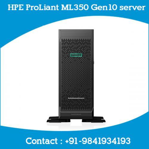 HPE ProLiant ML350 Gen10 server chennai, hyderabad, telangana, tamilnadu, india