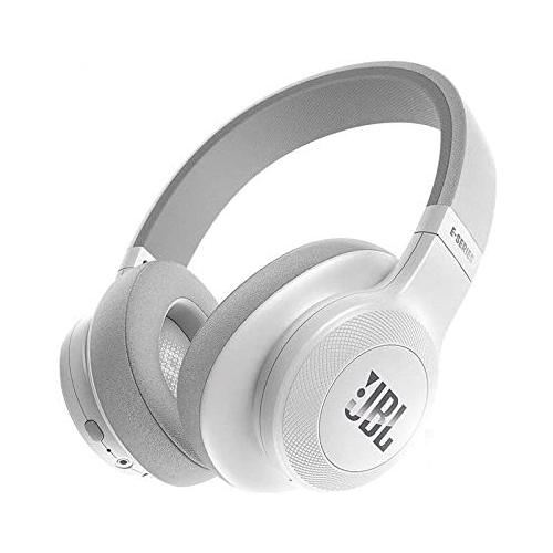 JBL E55BT White Wireless BlueTooth Over Ear Headphones chennai, hyderabad, telangana, tamilnadu, india