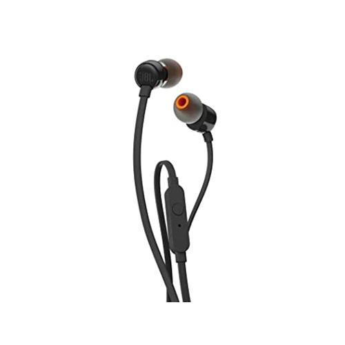 JBL T110 Wired In Black Ear Headphones chennai, hyderabad, telangana, tamilnadu, india
