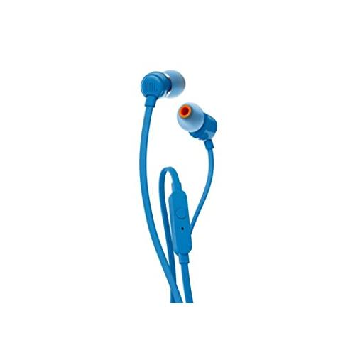 JBL T110 Wired In Blue Ear Headphones chennai, hyderabad, telangana, tamilnadu, india