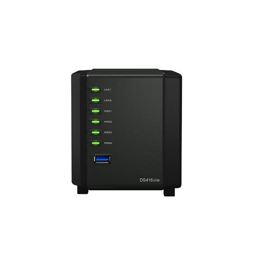 Synology DiskStation DS416slim 4 Bay Network Attached Storage chennai, hyderabad, telangana, tamilnadu, india