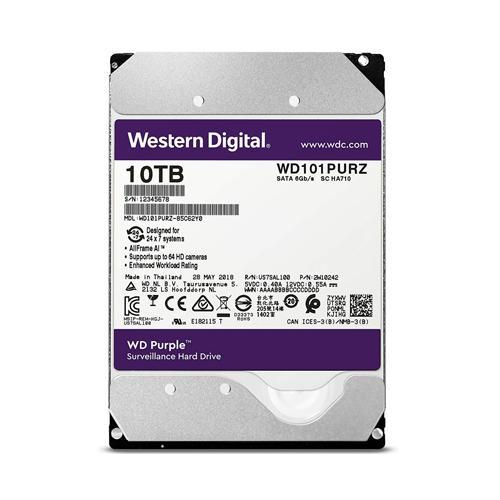 Western Digital Purple 10TB Surveillance Hard Drive dealers price chennai, hyderabad, telangana, tamilnadu, india