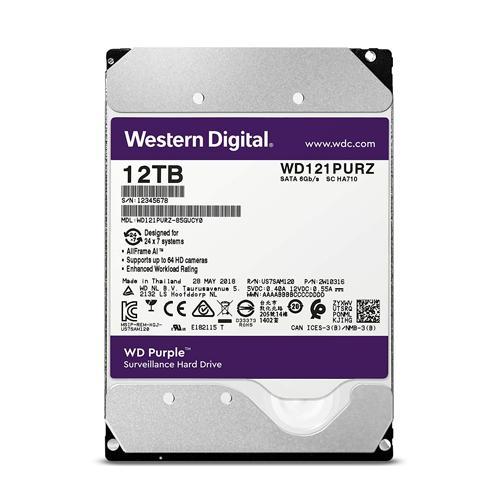 Western Digital Purple 12TB Surveillance Hard Drive dealers price chennai, hyderabad, telangana, tamilnadu, india