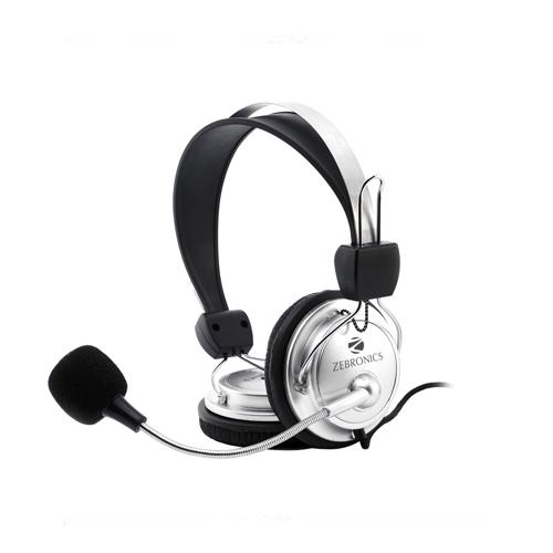 Zebronics Zeb 1001HMV Wired Headphone chennai, hyderabad, telangana, tamilnadu, india